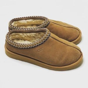 UGG Tasman genuine leather slippers men size:9M